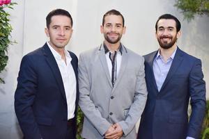 Carlos, Diego y Rodrigo