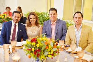 José, Gloria, Alfredo y Fermin