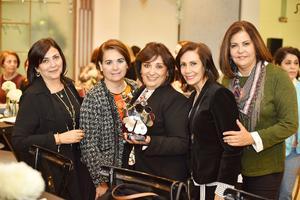 Liz, Eugenia, Roció, Myrna, Rosa
