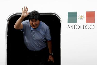 Llegó al aeropuerto de la Ciudad de México sobre las 11:15 hora local.