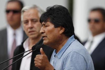 El expresidente de Bolivia agradeció al gobierno mexicano por recibirlo.