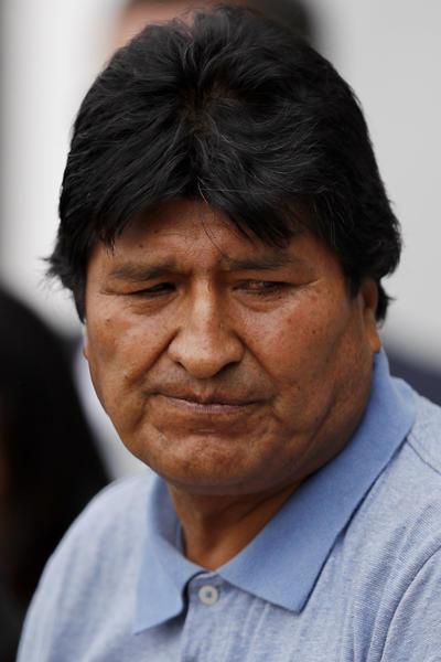 Morales también reiteró haber sido víctima de un 'golpe político y cívico'.
