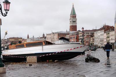 Venecia sufre una inundación 'apocalíptica'