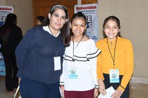 13112019 María Edilia Puente, Luisa Sofía Peralta y Fabiola Anahí Martínez del Colegio América.