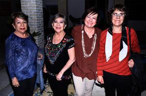 13112019 Yolanda Natera, María Isabel Saldaña, Carolina Murillo y Gloria Murillo.