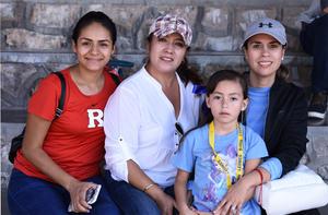 13112019 MUY CONTENTAS.  Martha, Lorena, Isabel e Isabel.