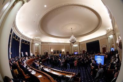 Las audiencias ocurren en medio de una gran expectación y con la presencia de centenares de periodistas.