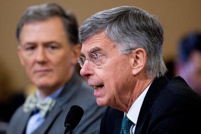 Taylor es uno de los primeros testigos en comparecer en las audiencias públicas de la investigación.