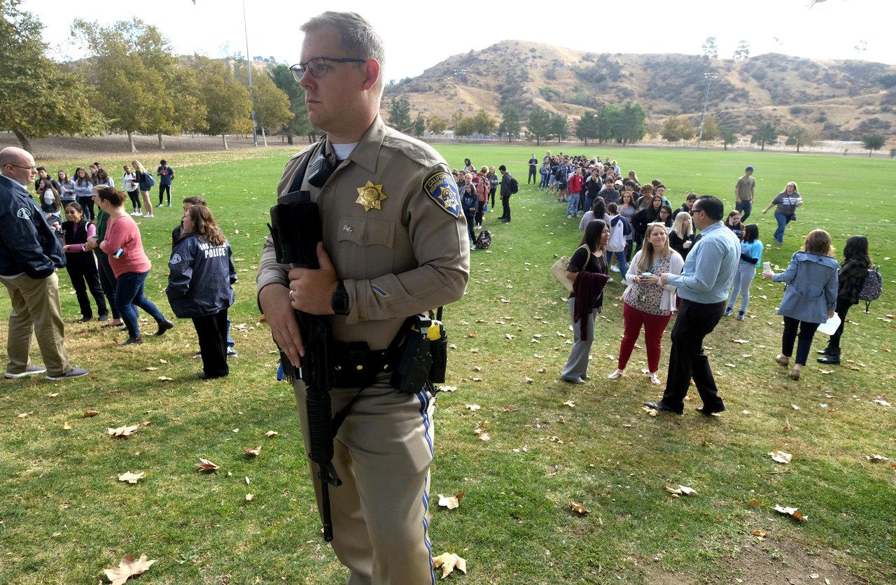 Tragedia en California; se registra tiroteo en escuela secundaria