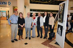 14112019 ADMIRAN OBRAS DE ARTE.  Eduardo, Nuria, Rolando, Silvia, Jorge, Lorenia y Gaby.