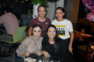 14112019 Anilú, Marcela, Verónica y Alana.
