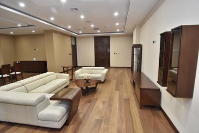 La suite de Evo Morales estaba en uno de los pisos de la gran edificación de 29 plantas que estrenó en agosto de 2018 y que reemplazó al viejo Palacio Quemado de La Paz, un edificio histórico justo a sus espaldas.