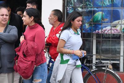 Sucedieron durante el desfile de la Revolución Mexicana.