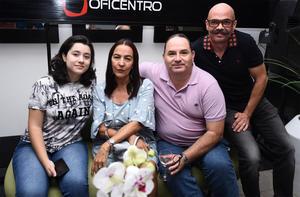 15112019 EXPOSICIóN DE ARTE.  Manuela, Mirna, Nacho y Juan.
