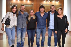 20112019 Ángeles, Abraham, Érika, Pancho, Carlos y Chapis.