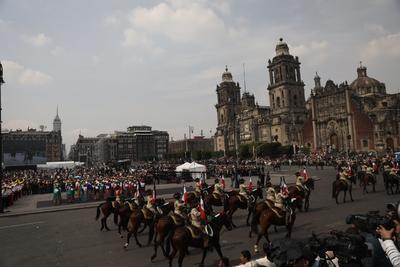 Las calles del Centro Histórico volvieron a ser transitadas por miles de caballos y jinetes de diferentes lugares de la República.