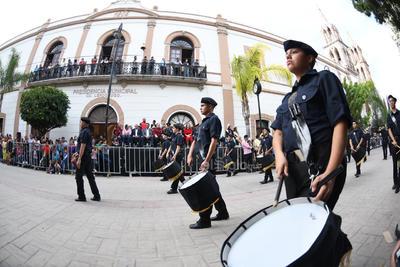 Lerdo conmemora el 109 aniversario de la Revolución Mexicana