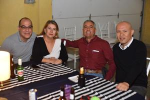 22112019 Miguel, Verónica, Leopoldo y Yoshiaki Minetoma.