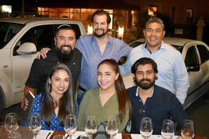 22112019 Jaime, Édgar, Álvaro, Gabriela, Aurora y Salatiel.