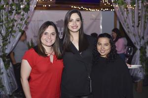Laura, Estefanía y Brenda