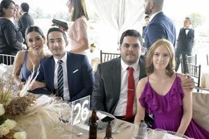 Andrea, Andres, Fernando y Regina