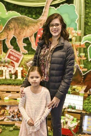 Roberta con su hija Maria Renée