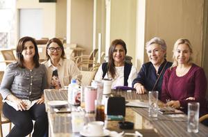 Gaby, Anabel, Coco, Lety y Yudith
