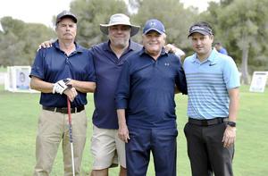 José Ramón, Gerardo, Othón y Gabriel