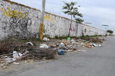 Malos olores. En algunos puntos, los desperdicios despiden olores desagradables pese a que radican algunas familias en los alrededores.
