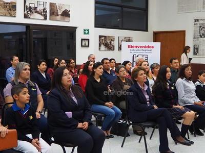 El acto tuvo lugar en el edificio de El Siglo de Torreón.