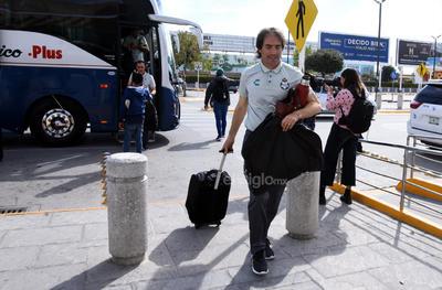 Viaja Santos para enfrentar primer duelo de Liguilla ante Rayados