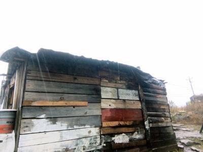 Por el momento, cuatro viviendas de Pueblo Nuevo han sido afectadas por las lluvias.