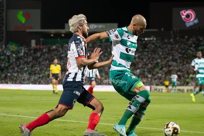 Pizarro, Doria   Santos vs MonterreyCuartos de final apertura  2019 de la Liga MX  Guerreros Monterrey Rayados Santos Santos Monterrey