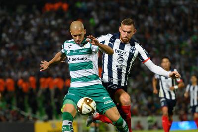 Jenssen, Doria   Santos vs MonterreyCuartos de final apertura  2019 de la Liga MX  Guerreros Monterrey Rayados Santos Santos Monterrey