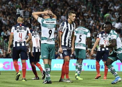SANTOS VS MONTERREY CUARTOS DE FINAL    Cuartos de final entre Santos Laguna y Rayados de Monterrey juego de vuelta Liga MX 2019 Santos Laguna 1 Rayados de Monterrey 1