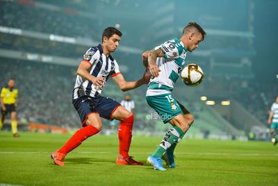 Liga MX     Liguilla de la Liga Mx Santos 1 vs Rayados 1  Marcador global 3 - 6 favor Rayados