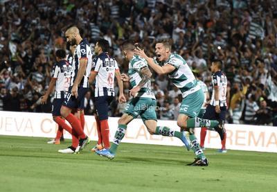 SANTOS VS MONTERREY CUARTOS DE FINAL    Cuartos de final entre Santos Laguna y Rayados de Monterrey juego de vuelta Liga MX 2019
