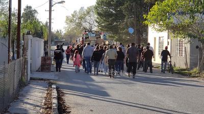 Dan último adiós a bombero de Villa Unión