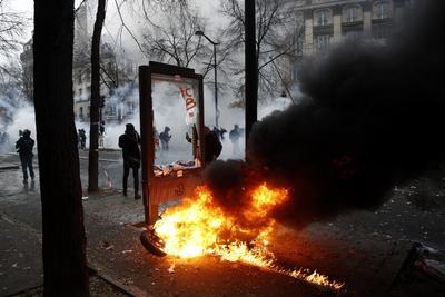 Hasta el momento, se habían realizado 9,350 controles para intentar evitar los disturbios.