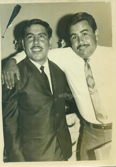 Hermanos Carlos y Gabriel Anaya Boone en septiembre de 1969.