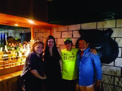 Blanca, Bertha, Rubén y Carlos.