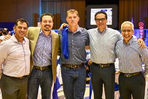05122019 REUNIóN DE EXBORREGOS.  Édgar, Manuel, Gabriel, Gerardo y Antonio.