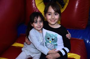 02122019 RECIENTE CELEBRACIóN INFANTIL.  Blanca y Valentina.