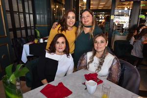 06122019 Mónica, Wendy, Ody y Claudia.