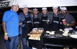 06122019 DISFRUTAN DE EVENTO DE PARRILLEROS.  Harvey, Arturo, Javier, Toño, Hernán y Juan.
