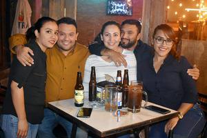 06122019 Ana Cristina, Ricardo, Alondra, Luis y Lizbeth.