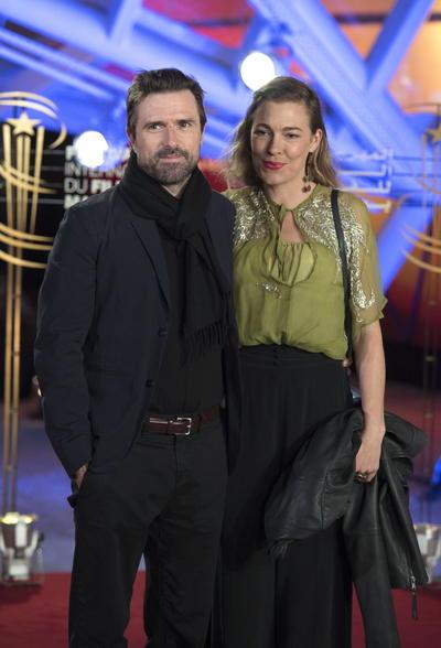 David Michod y su esposa Mirrah Foulkes.