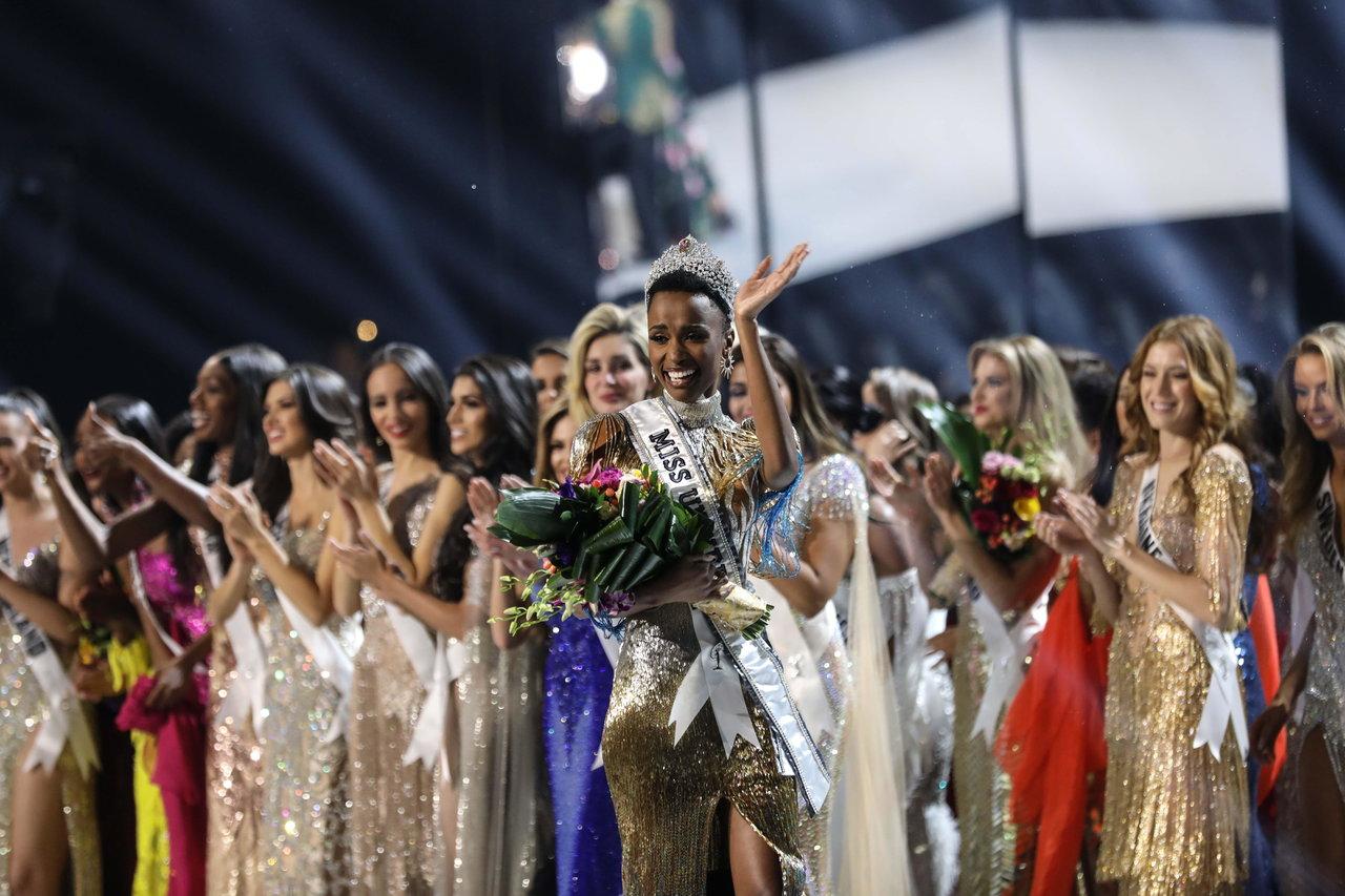 Sudáfrica se corona como Miss Univero 2019