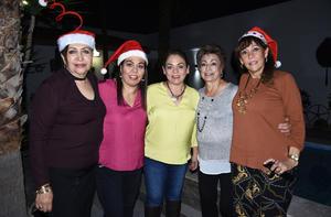 09122019 Nina, Rocío, Tere, Soco y Rosy.