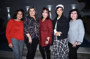 09122019 Juanina, Carmelita, Cecy, Imelda y Maru.